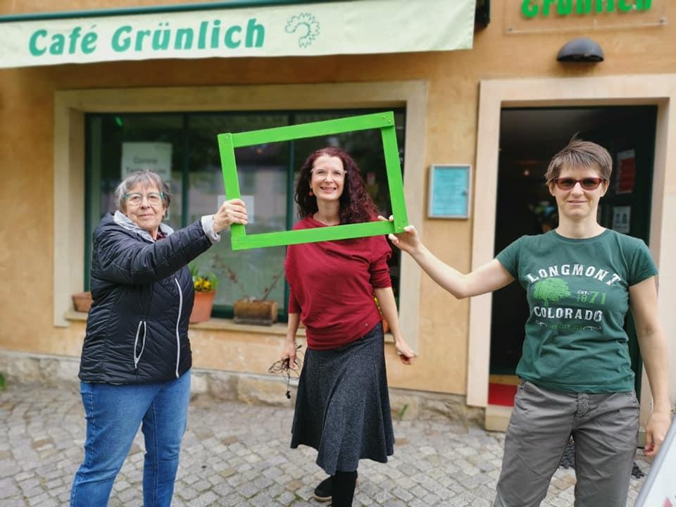 Karin zu Besuch in Radebeul