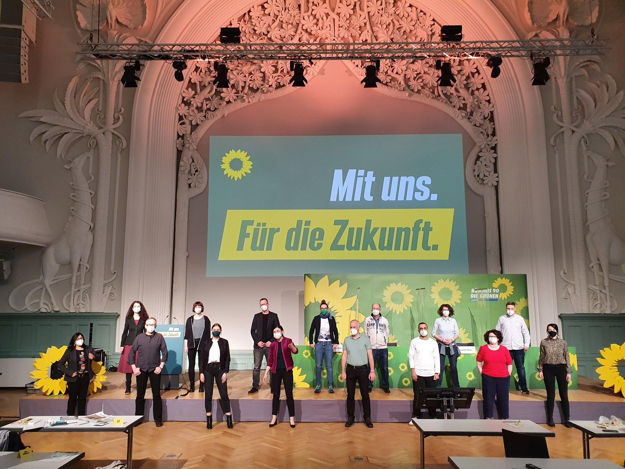 Sächsische Grüne wählen Landesliste zur Bundestagswahl