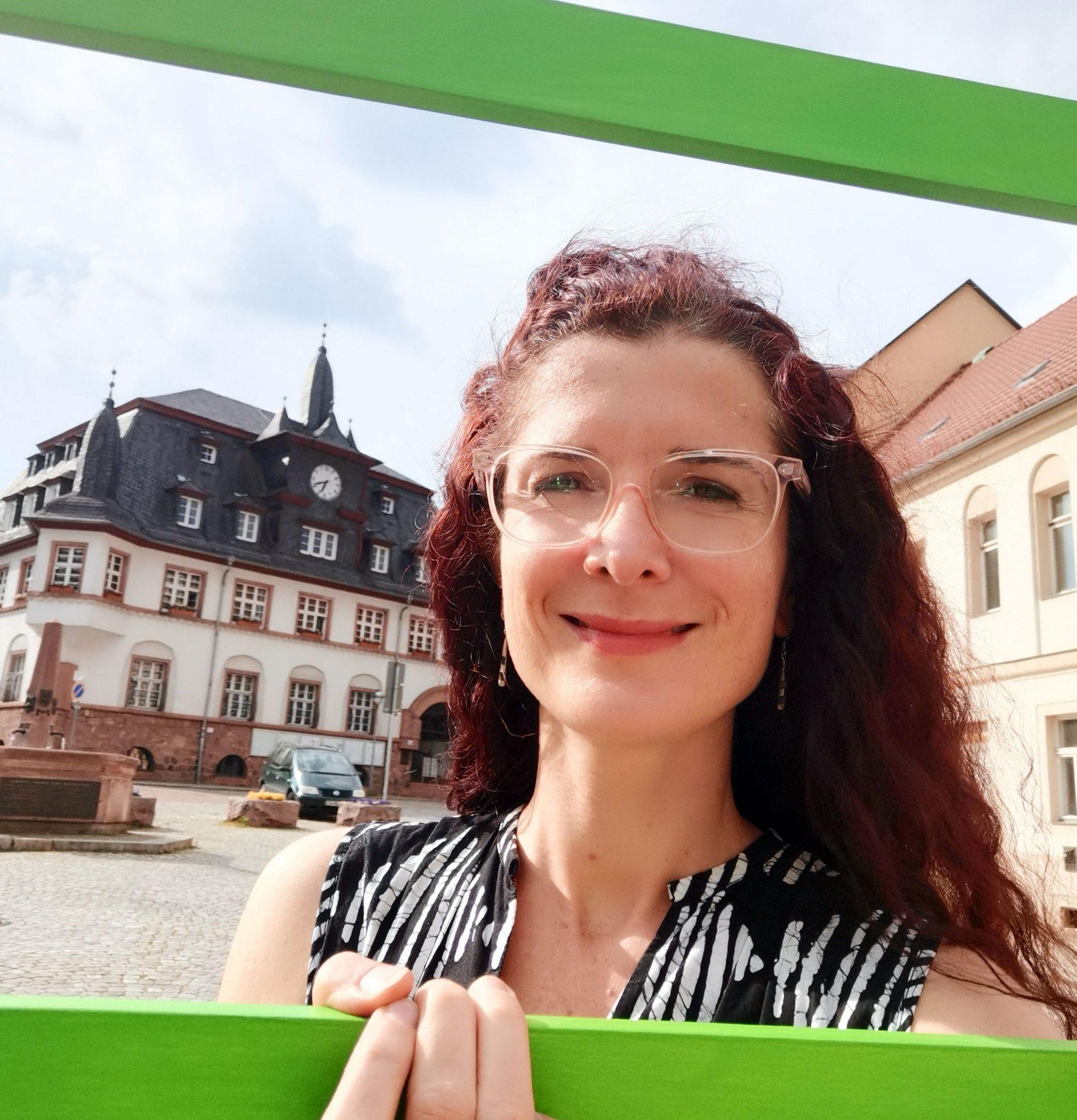 Karin Beese beim MDR Kandidatencheck