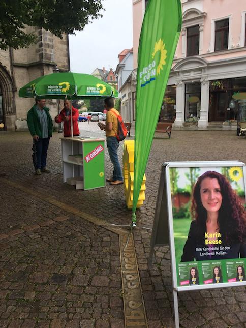 Wahlkampfauftakt in Meißen